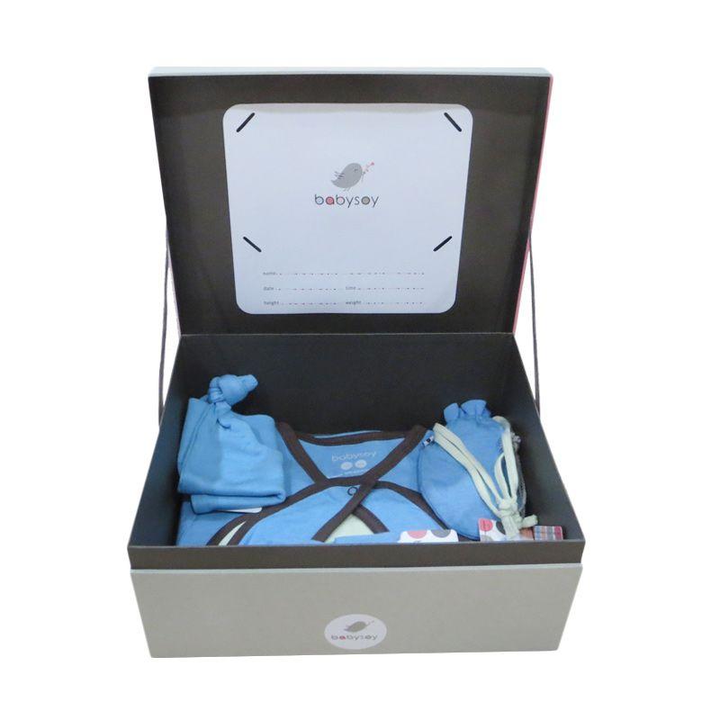 Babysoy Baby Shower Gift Pack Ocean Setelan Baju Bayi