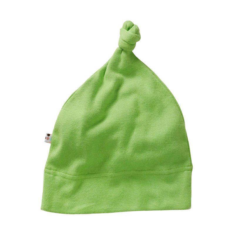 Babysoy Unisex O Soy Knot Hat Grass Topi Bayi
