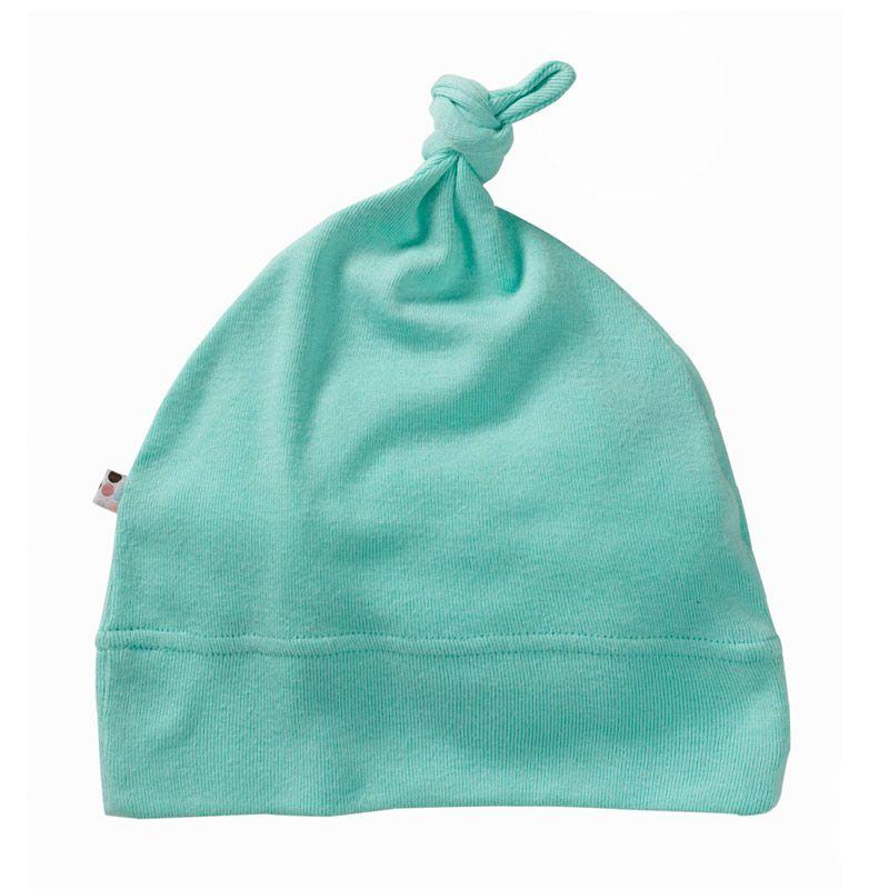 Babysoy Unisex O Soy Knot Hat Seafoam Topi Bayi