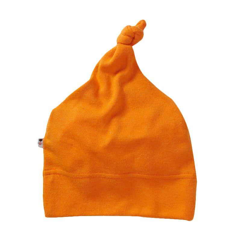 Babysoy Unisex O Soy Knot Hat Tangerine Topi Bayi