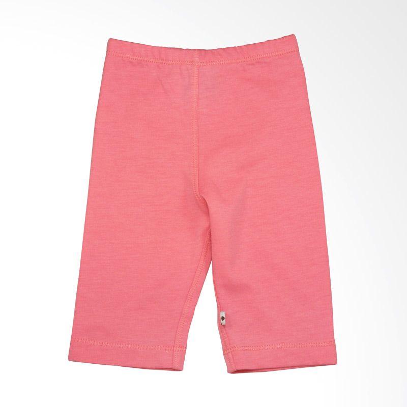 Babysoy Unisex Slip On Pant Pink Lemonade Celana Tidur Bayi