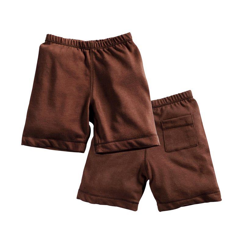 Babysoy Unisex Soy Soft Shorts Chocolate Celana Tidur Bayi