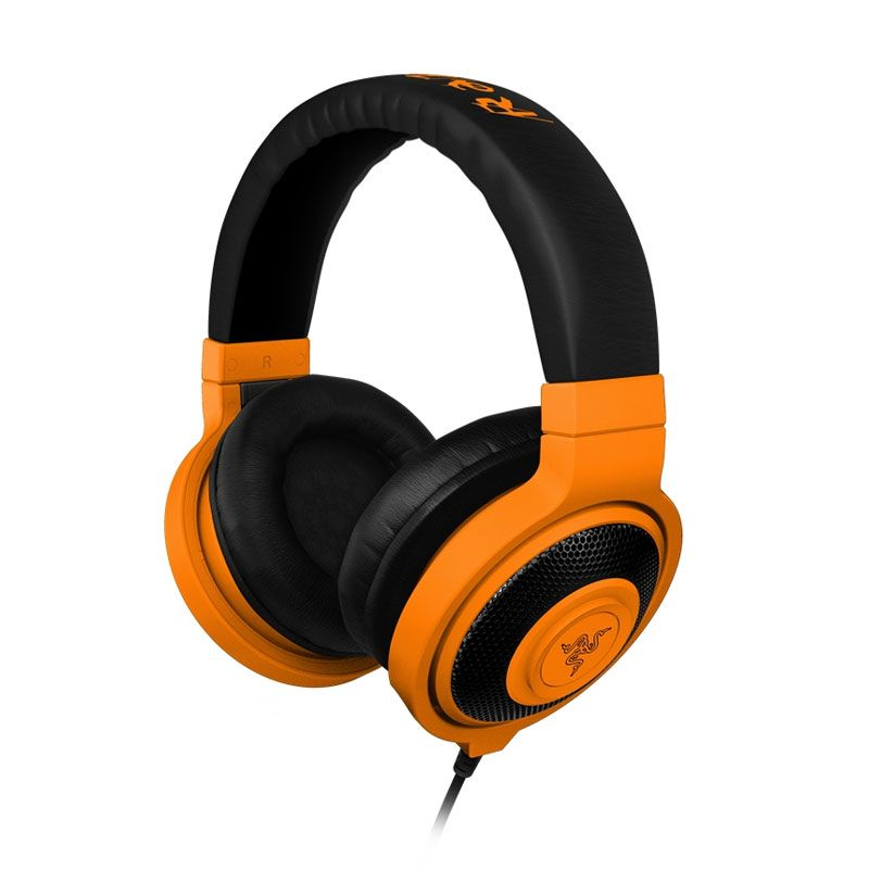 Razer Headset Kraken Neon Series - Orange