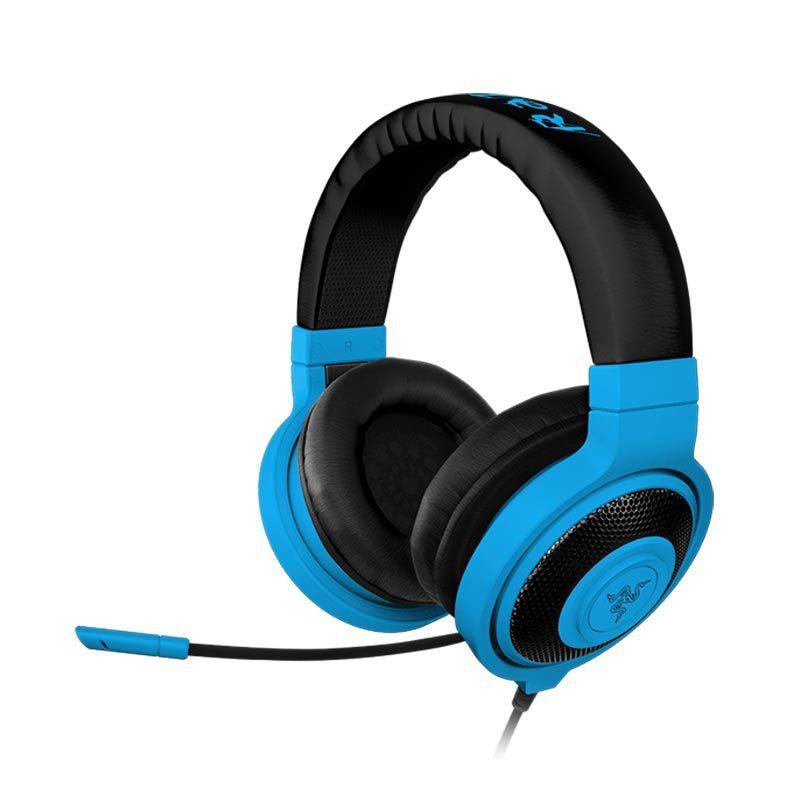 Razer Headset Kraken Pro Neon Biru