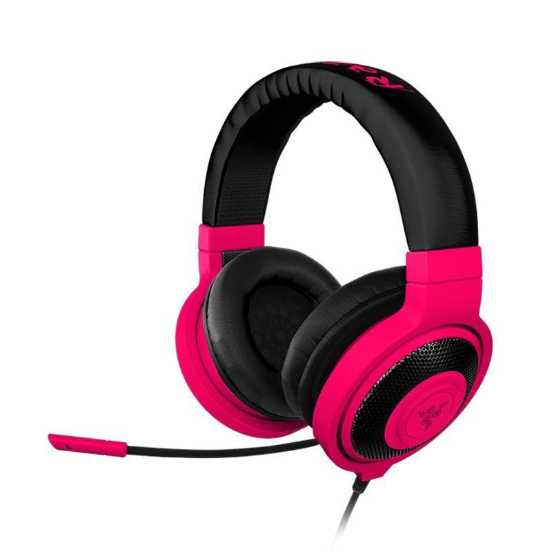 Razer Headset Kraken Pro Neon Merah