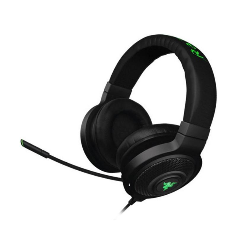 harga Razer Kraken 7.1 Chroma Hitam-Hijau Headset Blibli.com