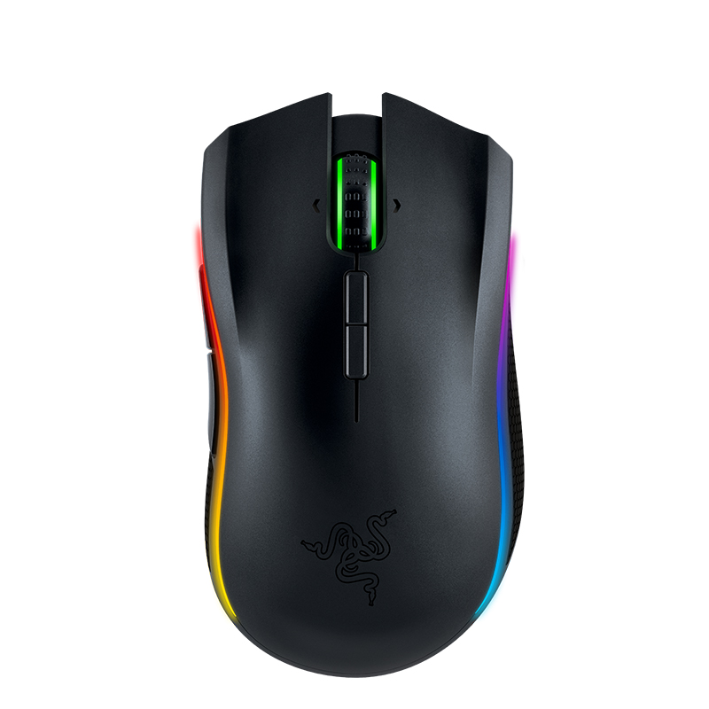 Razer Mamba Chroma 16000 Black Wireless Gaming Mouse