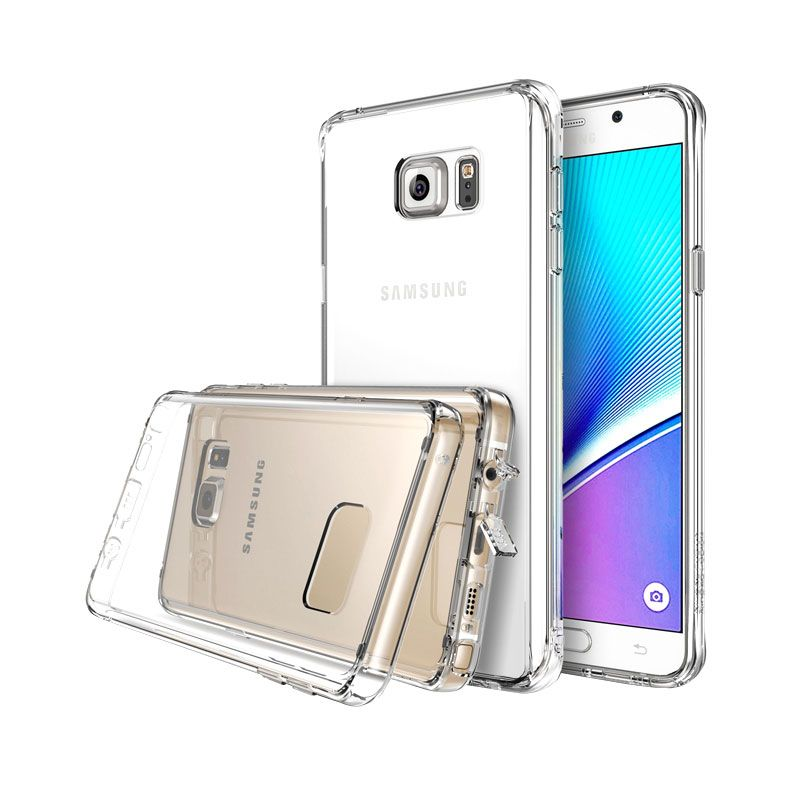 Rearth Ringke Fusion Casing for Samsung Galaxy Note 5 - Crystal View