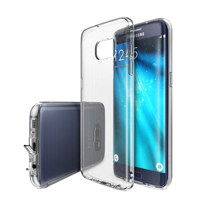 Rearth Ringke Fusion Casing for Galaxy S7 Edge - Crystal View