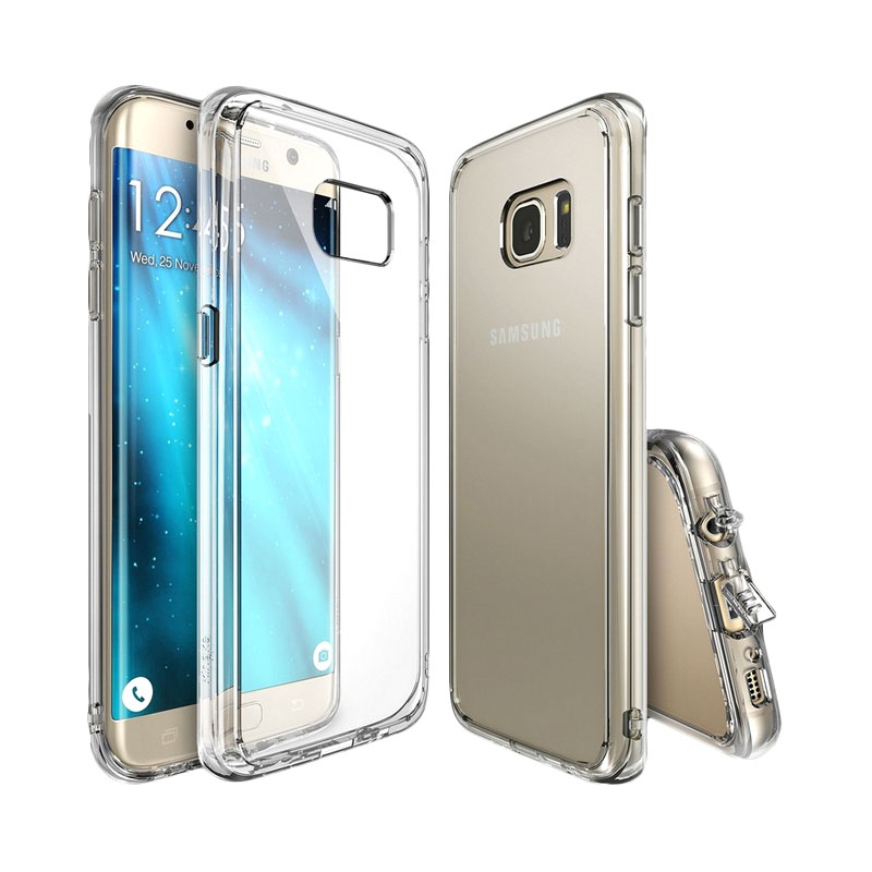 Rearth Ringke Fusion Casing for Samsung Galaxy S7 Edge - Clear