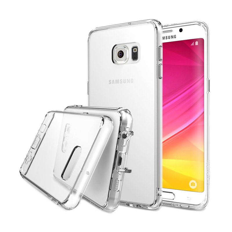 Rearth Ringke Fusion Crystal Clear Casing for Samsung Galaxy S6 Edge Plus