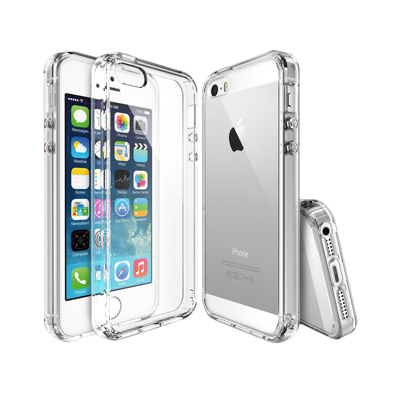 Rearth Ringke Fusion Crystal View Casing for iPhone SE/5s/5