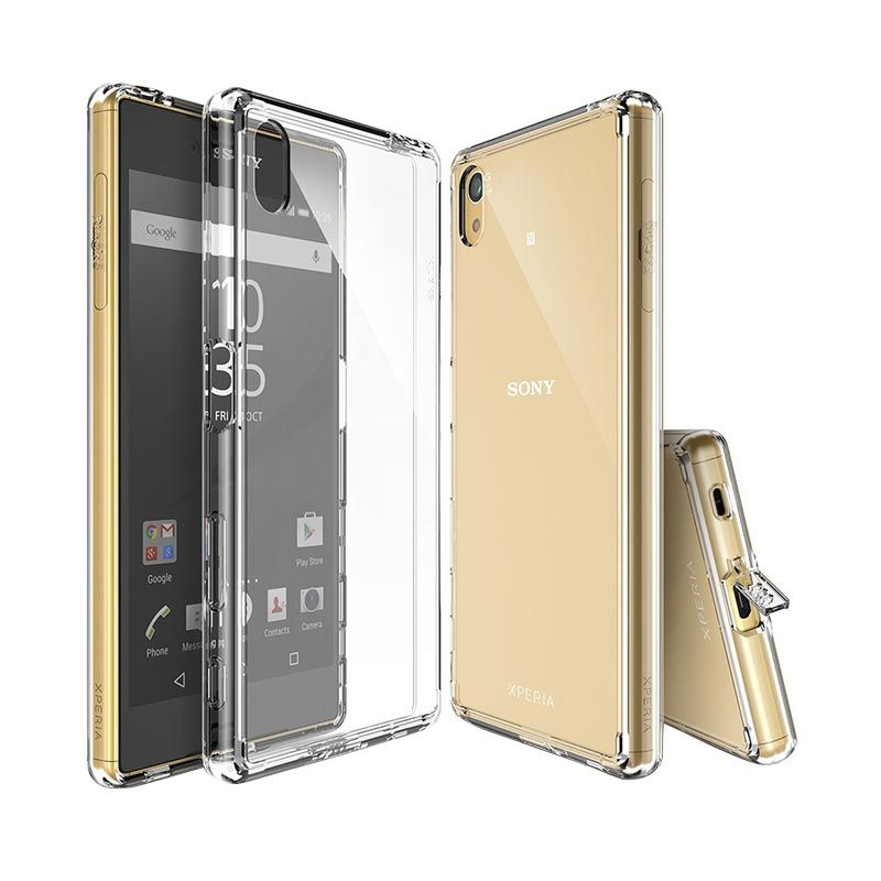 Rearth Ringke Fusion Crystal View Casing for Sony Xperia Z5