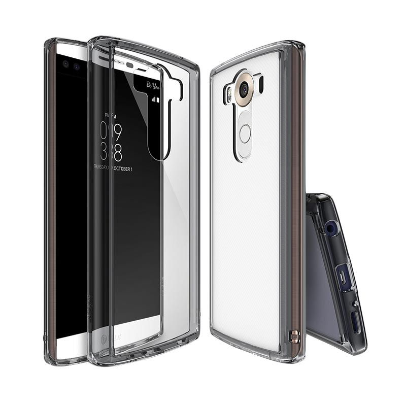 Rearth Ringke Fusion Smoke Black Casing for LG V10
