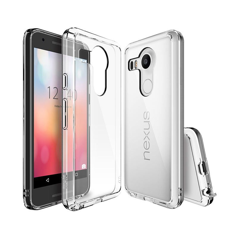 Rearth Ringke Fusion Crystal View Casing for Nexus 5X