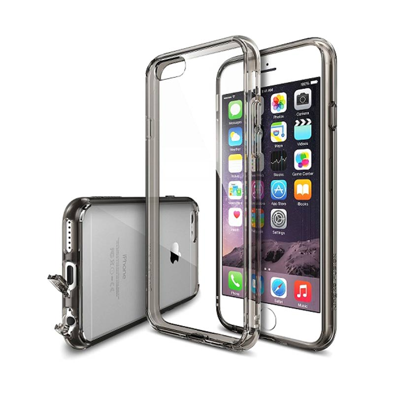 Rearth Ringke Fusion Smoke Black Casing for iPhone 6S Plus / iPhone 6 Plus