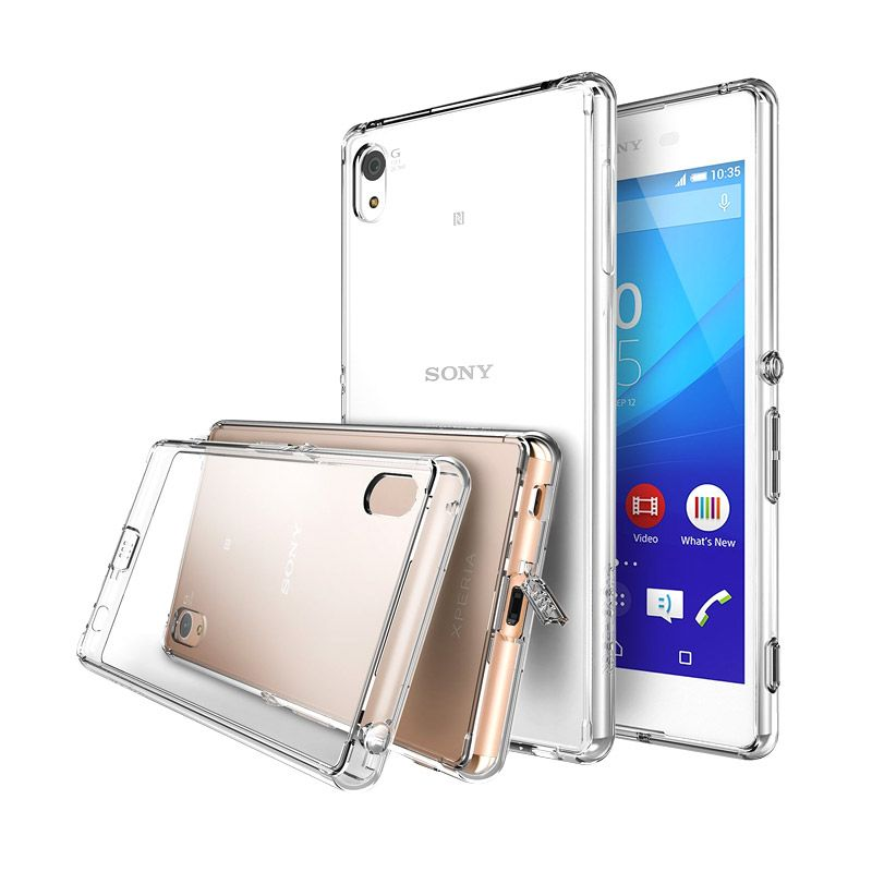 Rearth Ringke Fusion White Casing for Sony Xperia Z3+/Z4
