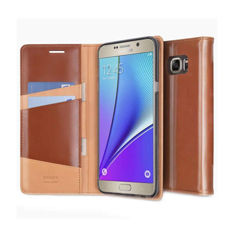 Rearth Ringke Signature Brown Casing for Samsung Galaxy Note 5