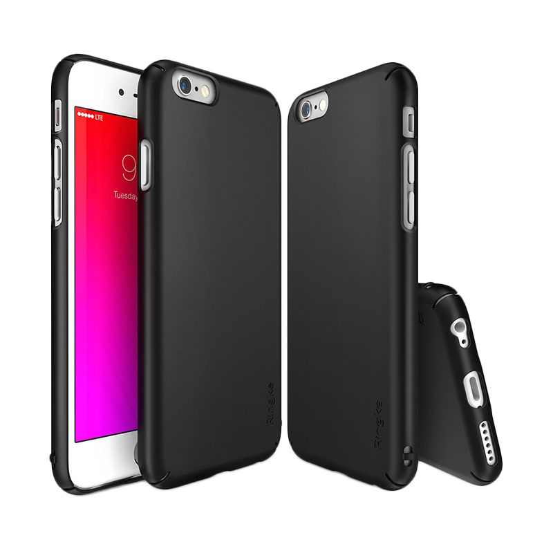 Rearth Ringke Slim SF Black Casing for iPhone 6S