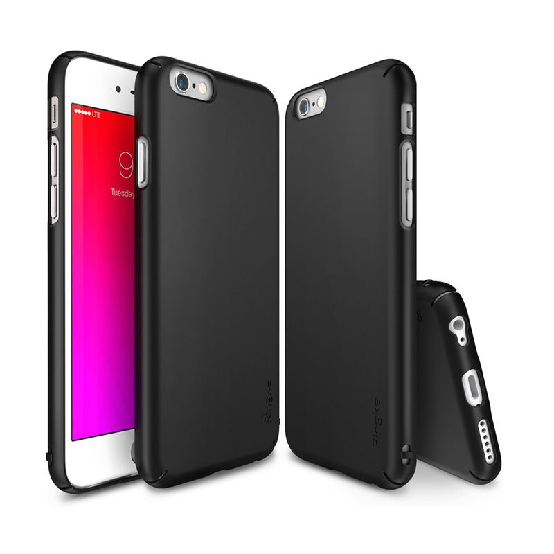 Rearth Ringke Slim SF Black Casing for iPhone 6s Plus