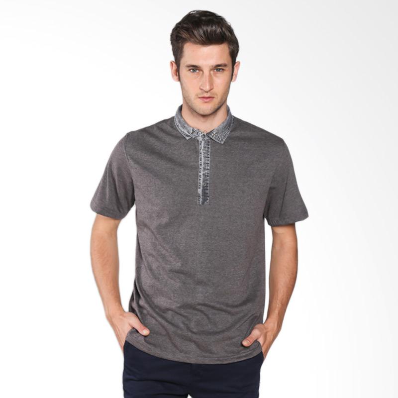 Red Cliff Smart Casual ZE1023JE T-Shirt - Grey Vintage Extra diskon 7% setiap hari Extra diskon 5% setiap hari Citibank – lebih hemat 10%