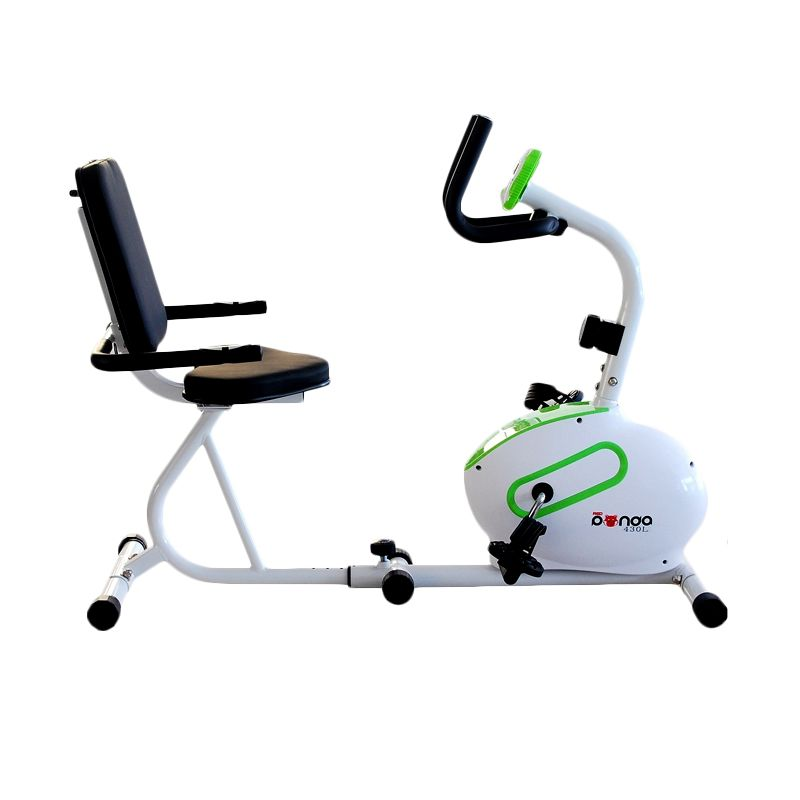 RedPanda 430L Hijau Putih Recumbent Bike Alat Fitness & Training