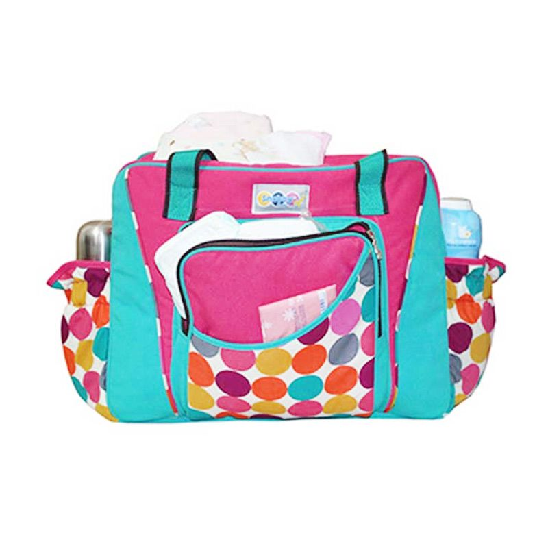 Snobby Color Marbles TPT 1571 Pink Tas Bayi [Extra Size]