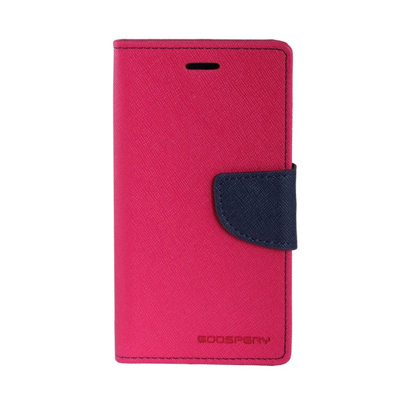 Mercury Diary Hot Pink Casing for Xioami Redmi Note