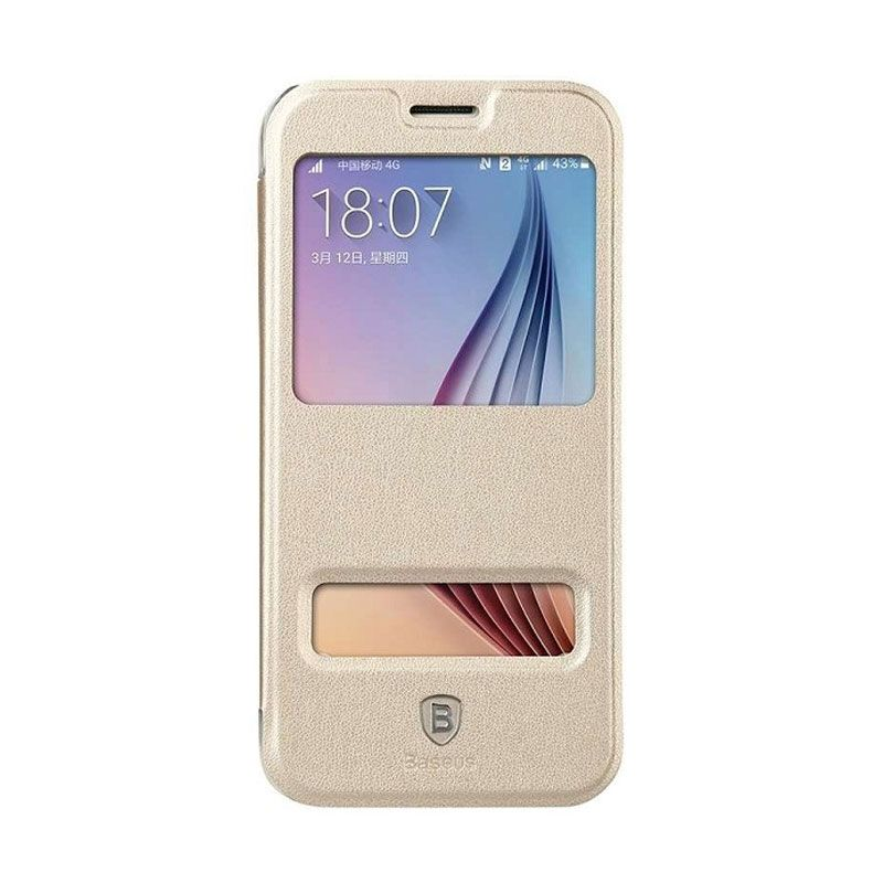 Baseus Primary Gold Casing for Samsung Galaxy S6
