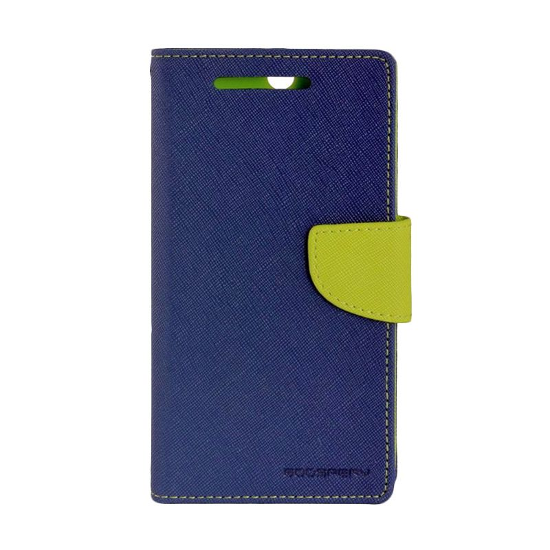 Mercury Diary Biru Casing for Samsung Galaxy Note 4