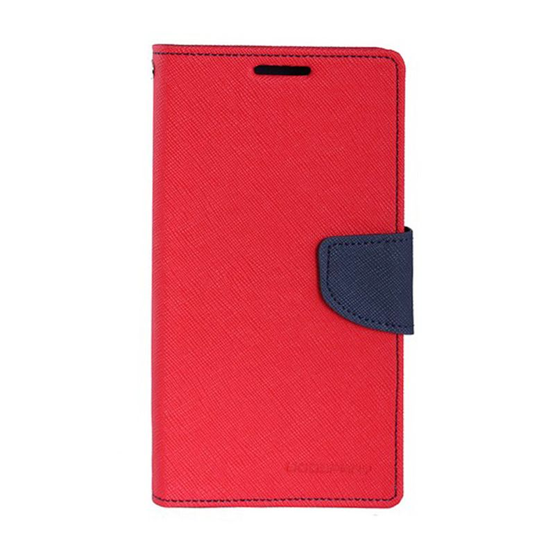 Mercury Diary Merah Casing for Samsung Galaxy Note 4