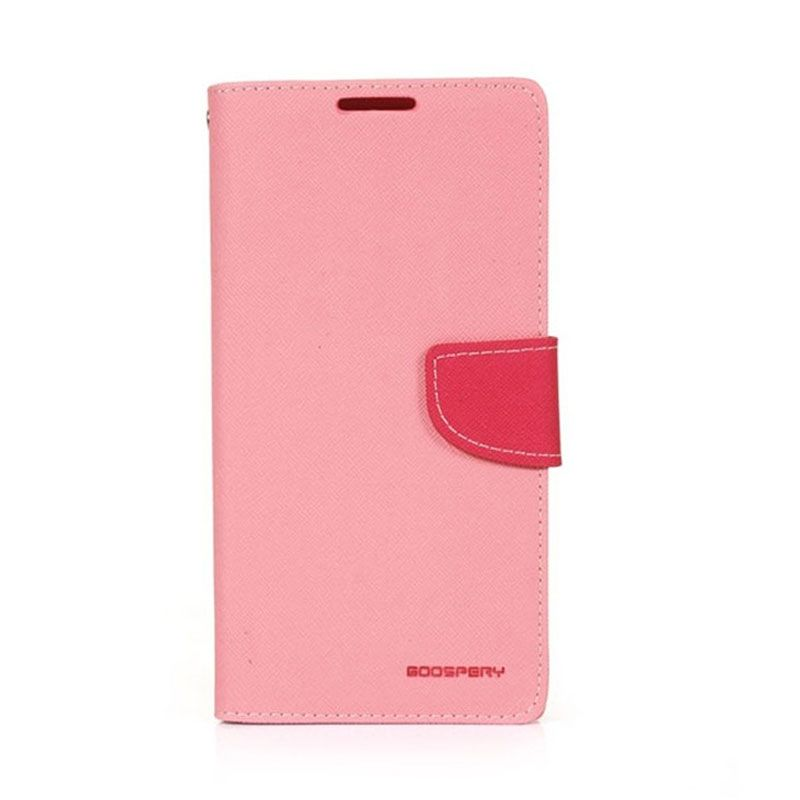 Mercury Diary Pink Casing for Samsung Galaxy Note 4