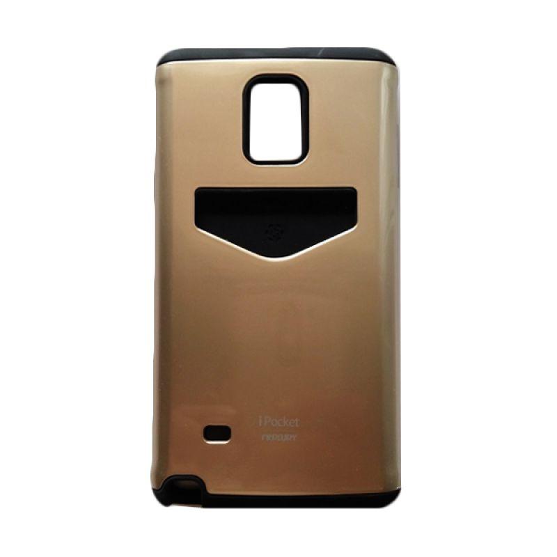 Mercury I Pocket Gold Casing for Samsung Galaxy Note 4