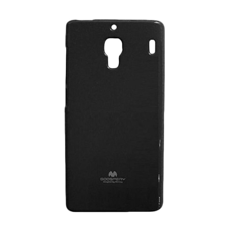 Mercury Jelly Hitam Casing for Xiaomi Redmi 1S
