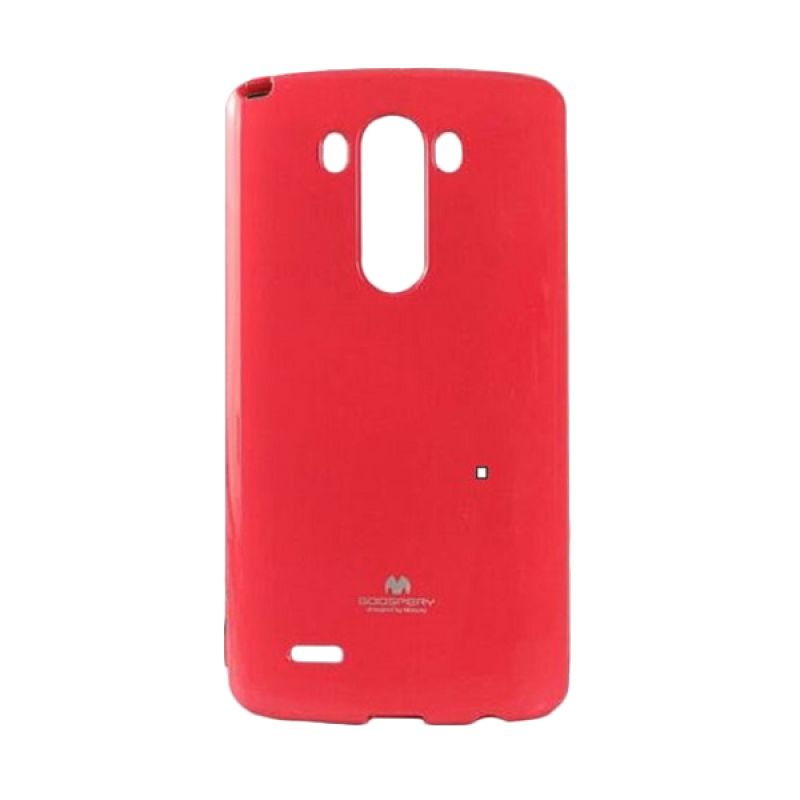 Mercury Jelly Hot Pink Casing for LG G3 Stylus