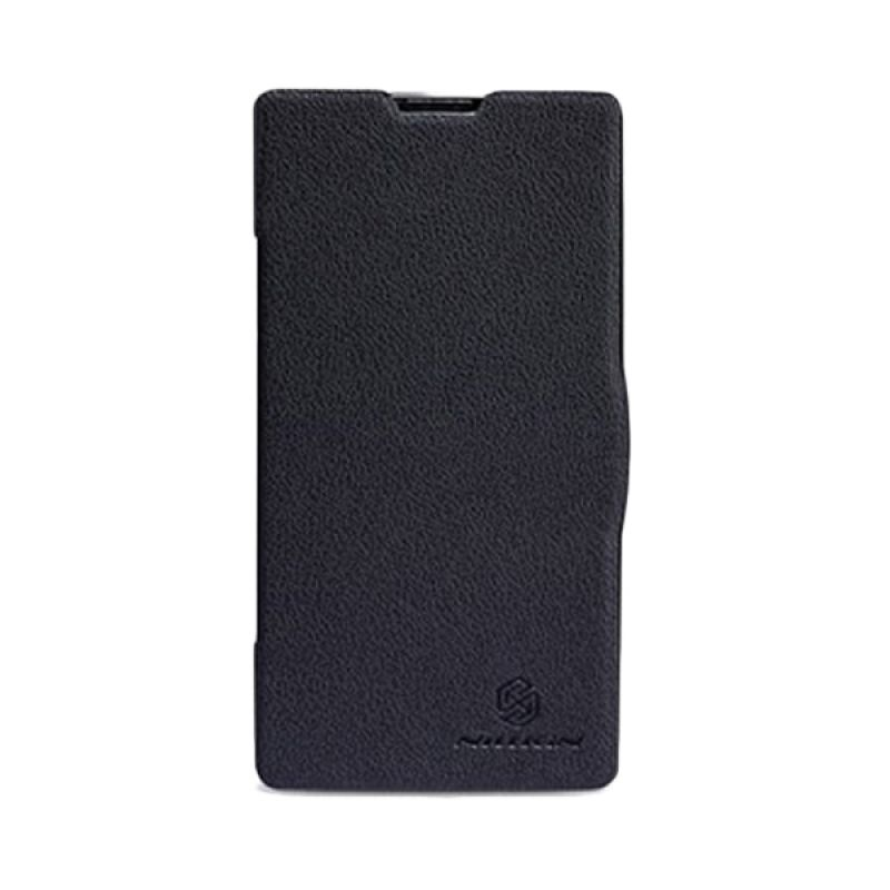 Nillkin Fresh Leather Hitam Casing for Xiaomi Redmi 1S