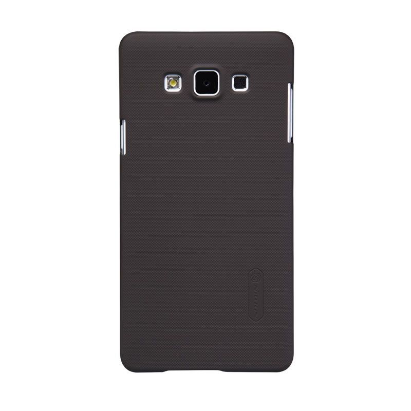 Nillkin Frosted Shield Coklat Casing for Samsung Galaxy A7