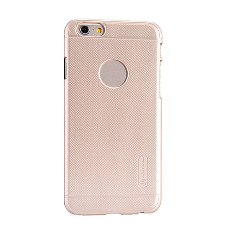 Nillkin Frosted Shield Gold Casing for iPhone 6