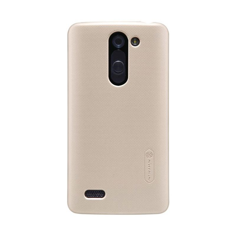Nillkin Frosted Shield Gold Casing for LG Fino