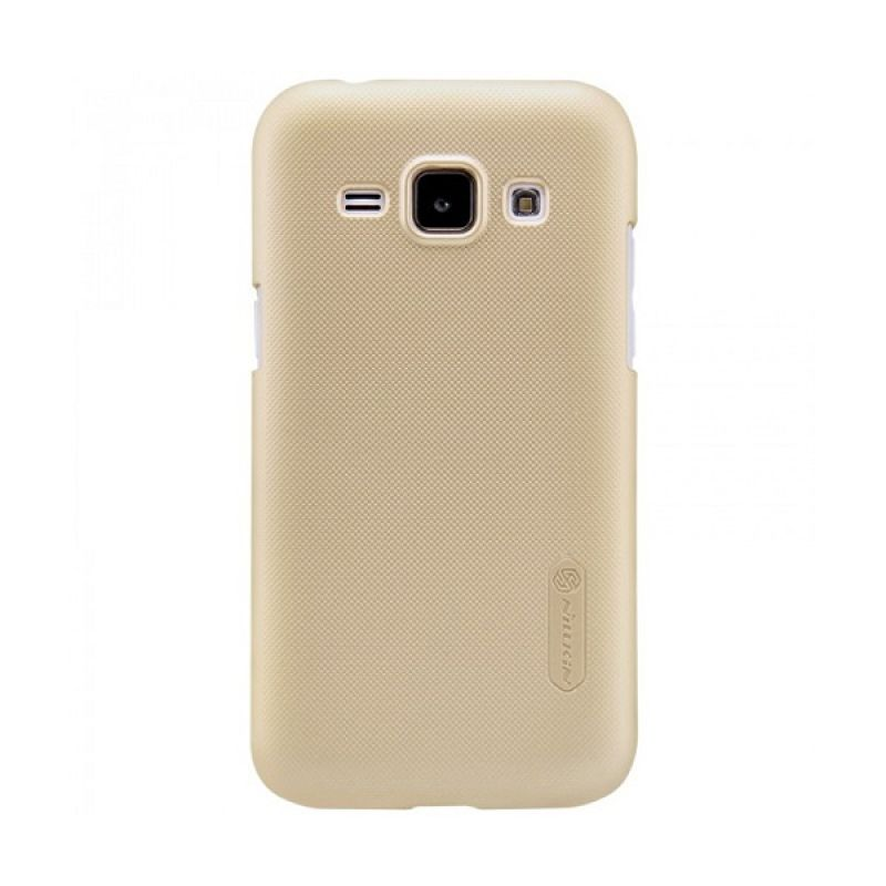 Nillkin frosted Shield Gold Casing for Samsung Galaxy J1