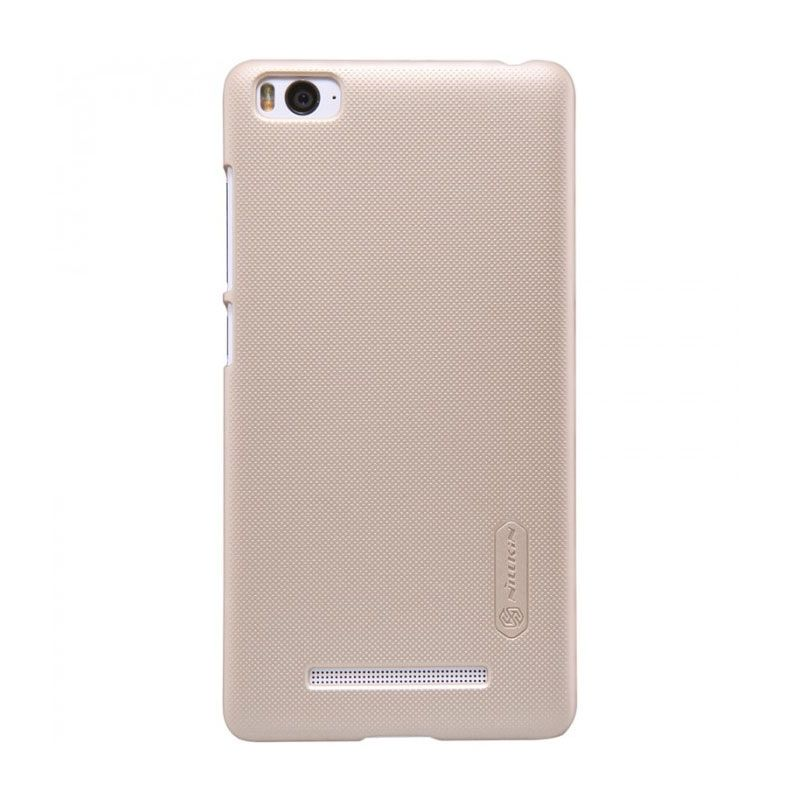 Nillkin Frosted Shield Gold Casing for Xiaomi Mi4i