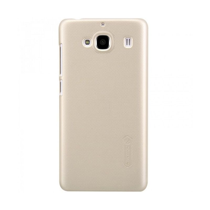 Nillkin Frosted Shield Gold Casing for Xiaomi Redmi 2