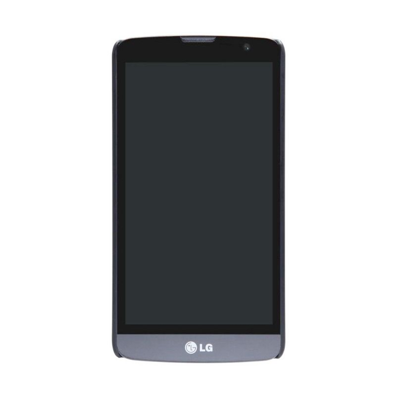 Nillkin Frosted Shield Hitam Casing for LG Bello
