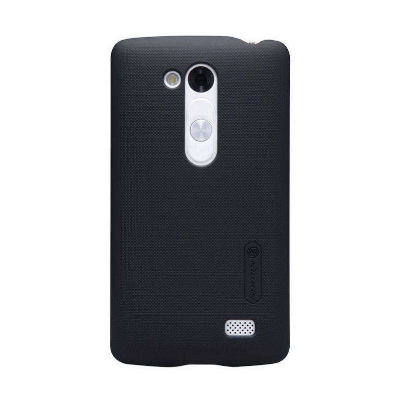 Nillkin Frosted Shield Hitam Casing for LG Fino