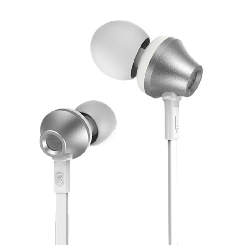 Remax 610D Headset for iPhone or Android - Silver