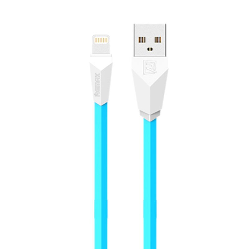 Remax Aliens Blue Lightning Cabel for iPhone 5/6 or iPad Mini