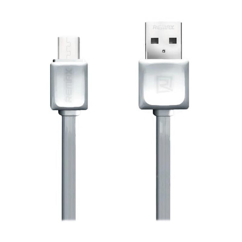 Remax Fast Micro USB Abu-abu Data Cable [1 m]