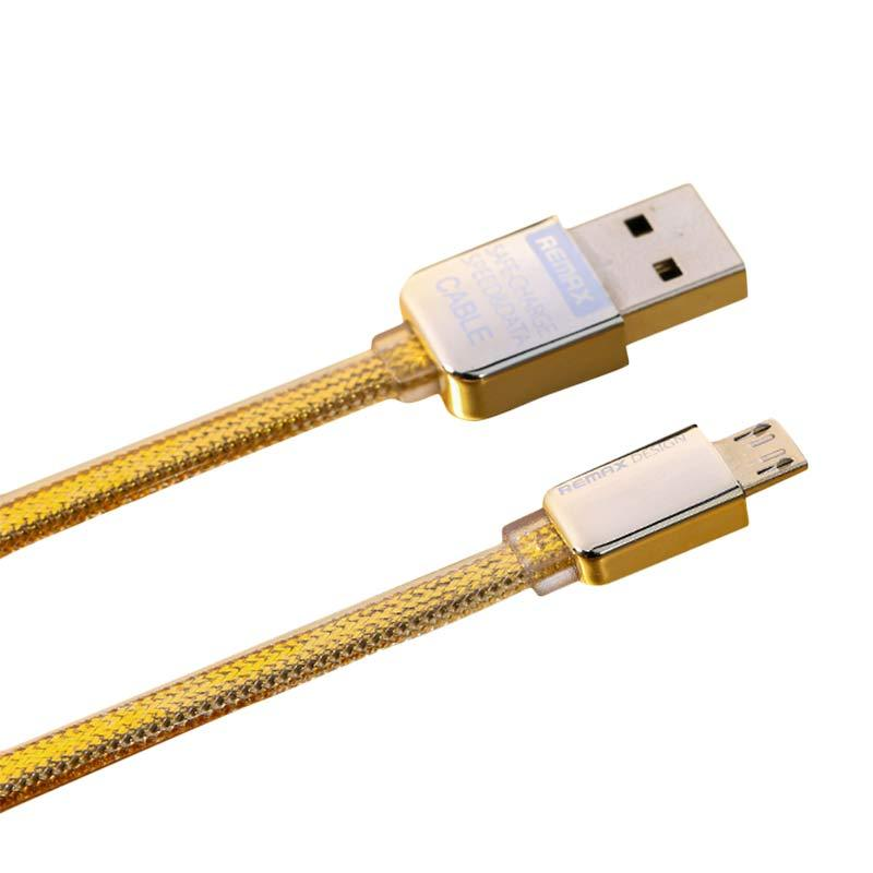 Remax Special Edition Kingkong Micro USB Kabel Data - Gold
