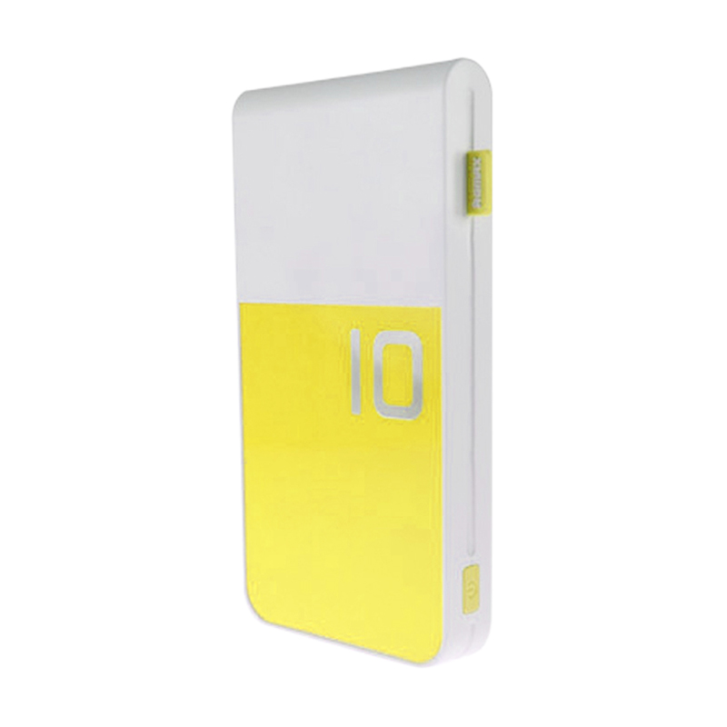 Remax Proda Colorful Yellow Powerbank Polymer [10000 mAh]