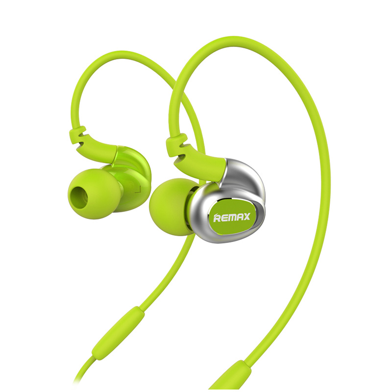 Remax RM S1 Sport Stereo Dynamic Bass Headset - Green